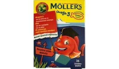 Moller's Omega 3 για Παιδιά 36 ζελεδάκια