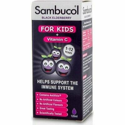 Sambucol Kids + Vitamin C 120ml