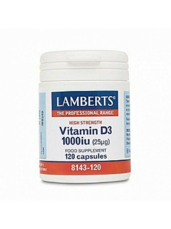 Lamberts Vitamin D3 1000iu 120caps