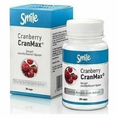 AM Health Smile Cranberry CranMax 30 tabs