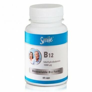 AM Health Smile B12 1000mg 60 caps
