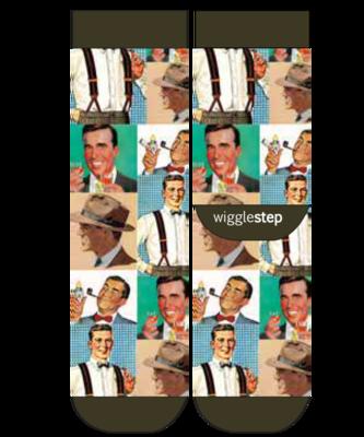 Wigglesteps Men's Socks