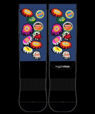Wigglesteps Men's Performance Socks Size:39-42
