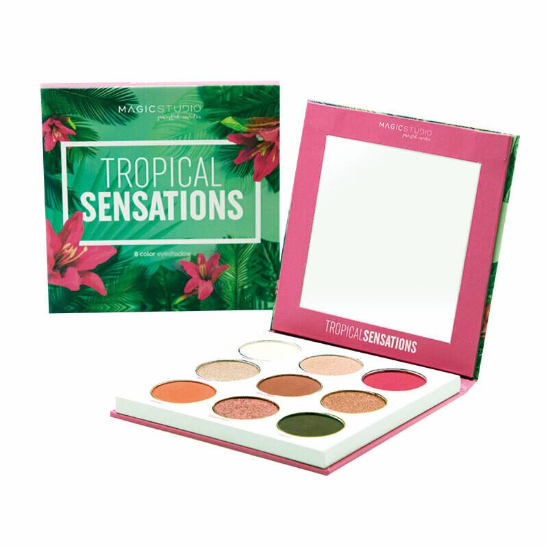Folia Cosmetics Tropical Sensation Eyeshadow Palette (8τμχ)