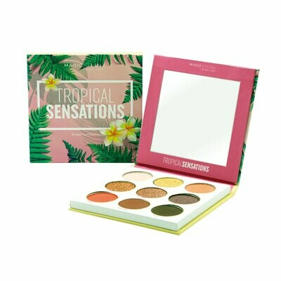 Folia Cosmetics Tropical Sensation Eyeshadow Palette Magic Studio (8τμχ)
