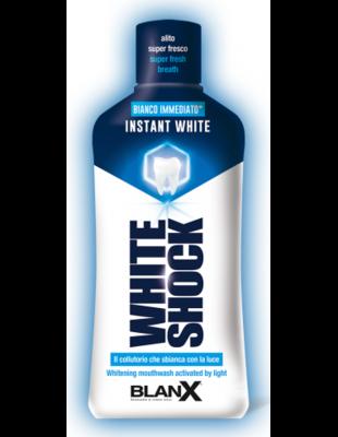 BlanX White Shock Instant White Mint Mouthwash 500ml