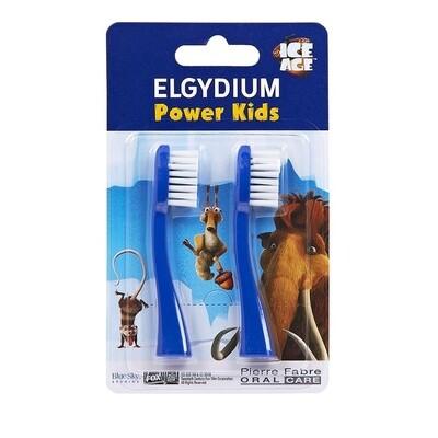 Elgydium Power Kids Refill I.A. Ανταλλακτικά 2τμχ