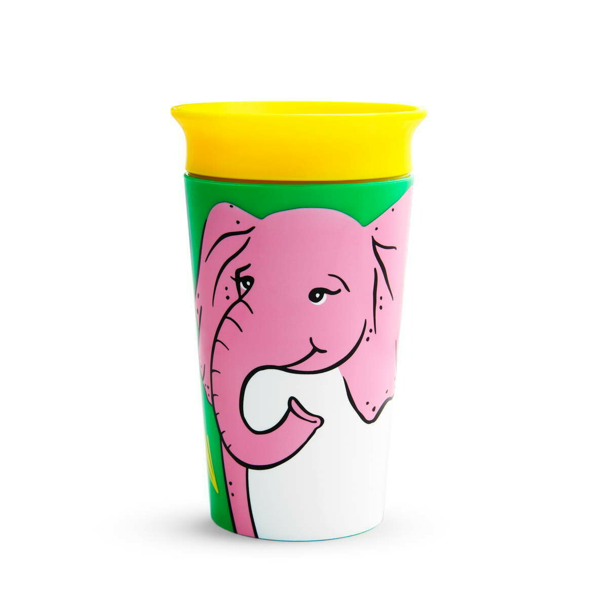 Munchkin-MIRACLE SIPPY CUP 266ML - ELEPHANT