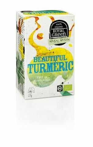 Royal Green Herbal Infusion Beautiful Turmeric 27gr