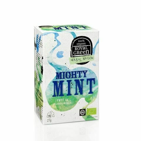 Royal Green Herbal Infusion Mighty Mint 27gr