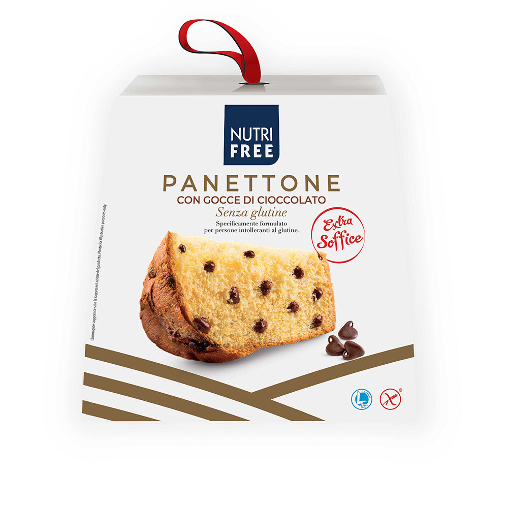 Nutrifree Panettone με Σταγόνες Σοκολάτας χωρίς Γλουτένη 600gr