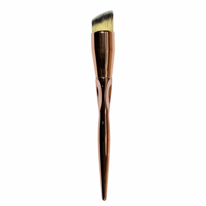 Folia Cosmetics Angled Kabuki Brush Bronzy