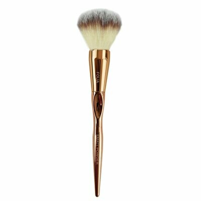 Folia Cosmetics Small Powder Brush Rose Gold