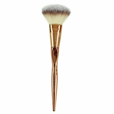 Folia Cosmetics Large Powder Brush Rose Gold