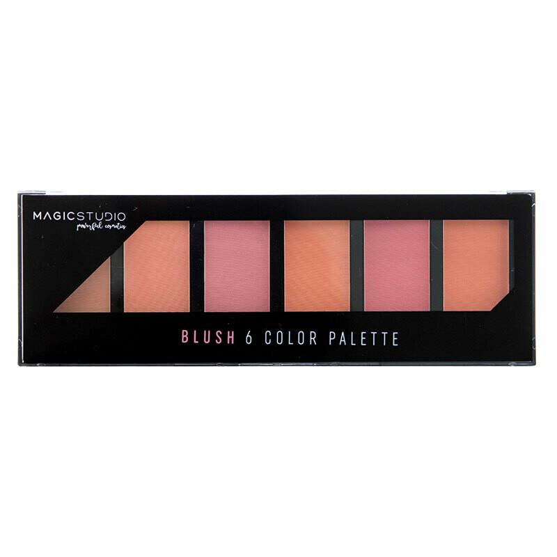 Folia Cosmetics Magic Studio Blush Palette 6 Colors