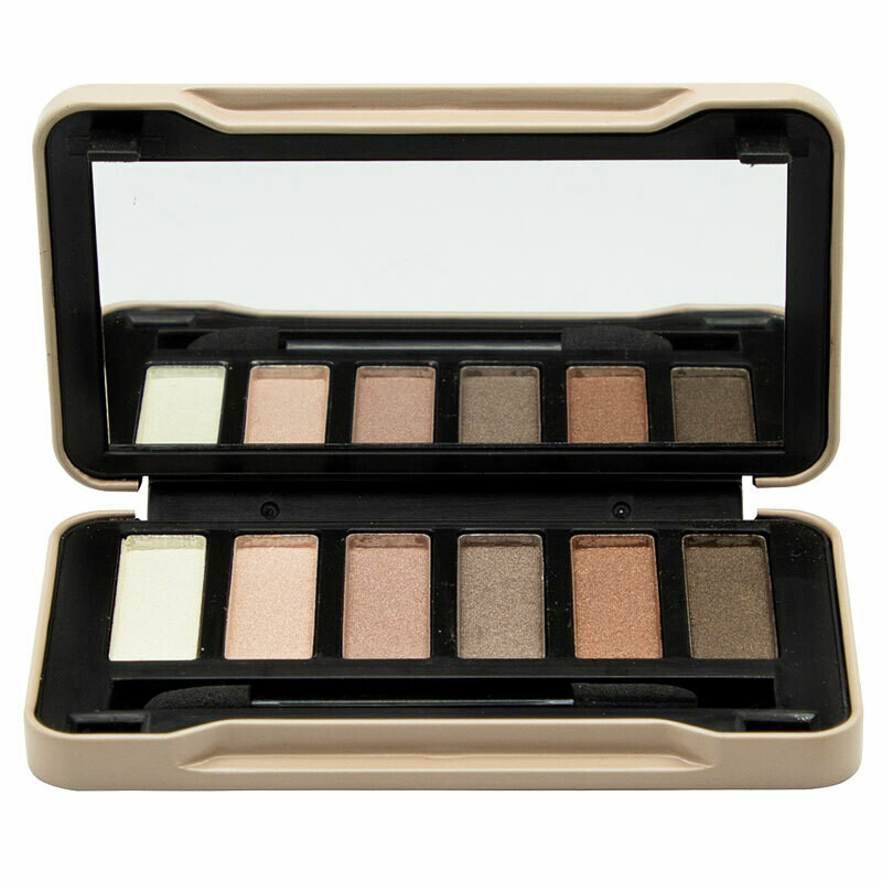 Folia Cosmetics Magic Studio Nudes Compact Case 6 Colors (6τμχ)