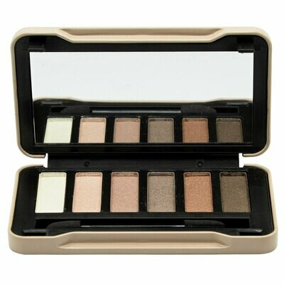 Folia Cosmetics Magic Studio Nudes Compact Case 6 Colors (6τμχ)