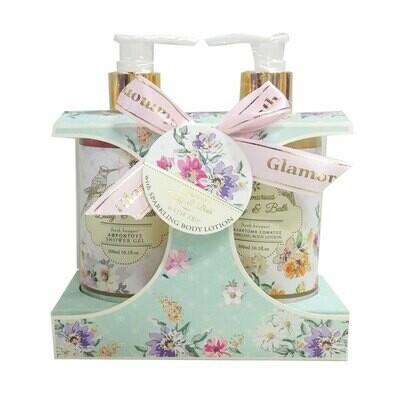 Folia Cosmetics Glamorous Shimmer Gift Set Fresh Bouquet
