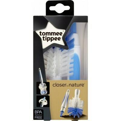 Tommee tippee βούρτσα καθαρισμού μπιμπερό και θηλών Closer to nature