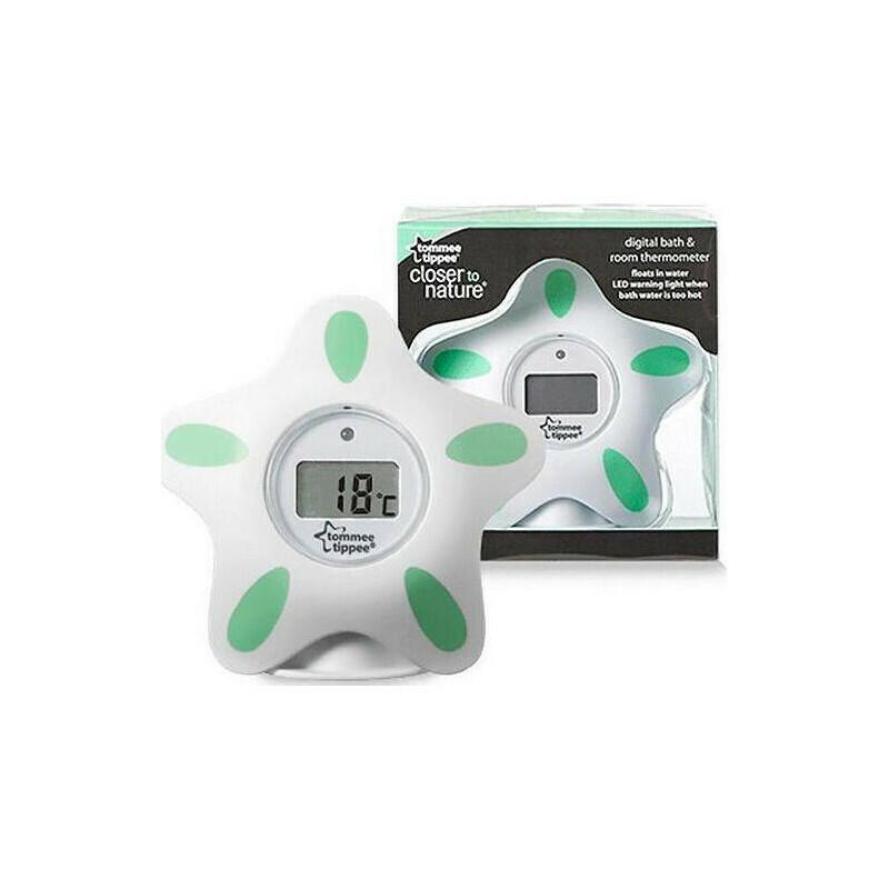 Tommee Tippee Ψηφιακό Θερμόμετρο Μπάνιου Closer to Nature Green