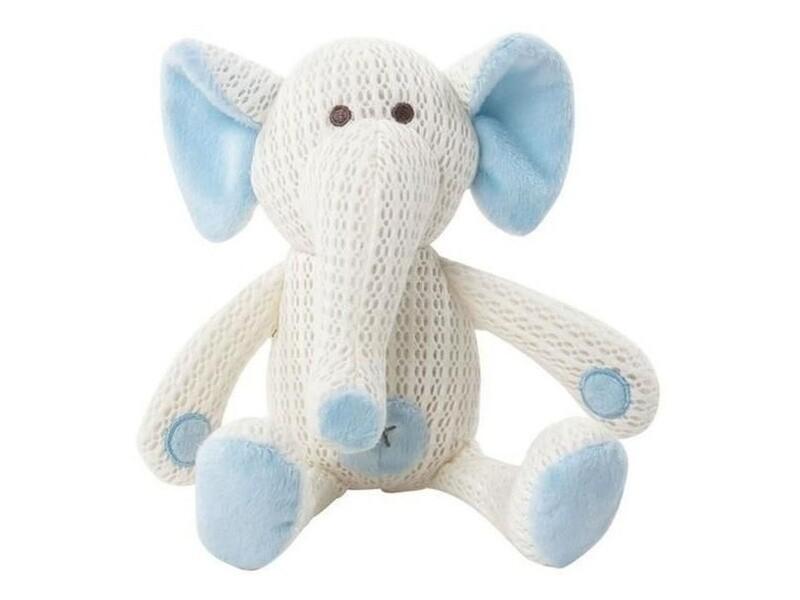 Tommee Tippee, Λούτρινο Ζωάκι με Αναπνεύσιμο Ύφασμα Eddy ο Ελέφαντας