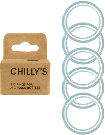 Chilly's 5X Oring Pack 260/500ml