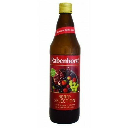 Rabenhorst Χυμός Berry Selection Bio 750ml