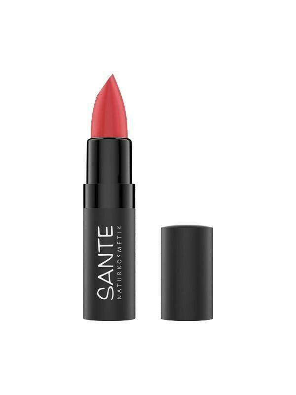 SANTE Lipstick Matte 06 Bright Papaya 4.5gr