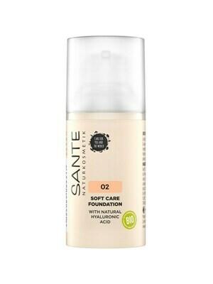 SANTE Soft Care Natural Face Foundation 30ml