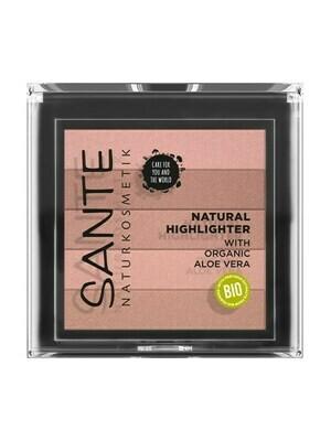 SANTE Natural Highlighter 02 Rose 7gr