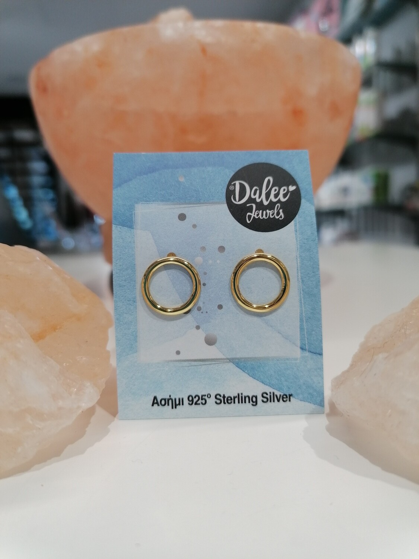 Dalee Jewels Σκουλαρίκια Circular Earrings