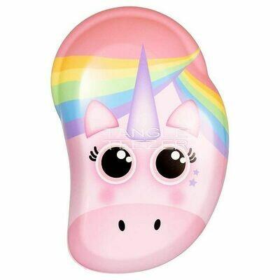 Tangle Teezer Detangling Hairbrush Wet and Dry Small Original Pink Unicorn Παιδική Βούρτσα Μαλλιών