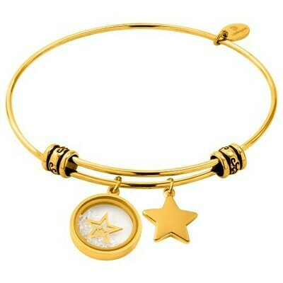 Natalie Gersa Steel Bracelet Pendants Stars