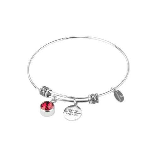 Natalie Gersa Birthstone Bracelet Love You To The Moon And Back