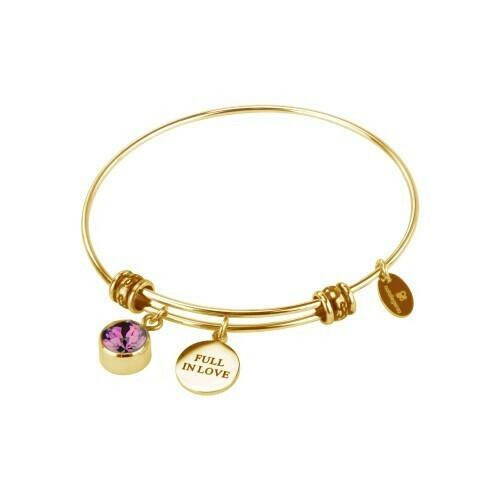 Natalie Gersa Birthstone Bracelet Full In Love