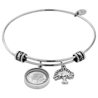 Natalie Gersa Steel Bracelet Pendants Family Tree