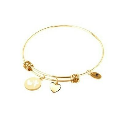 Natalie Gersa Steel Bracelet Valentine