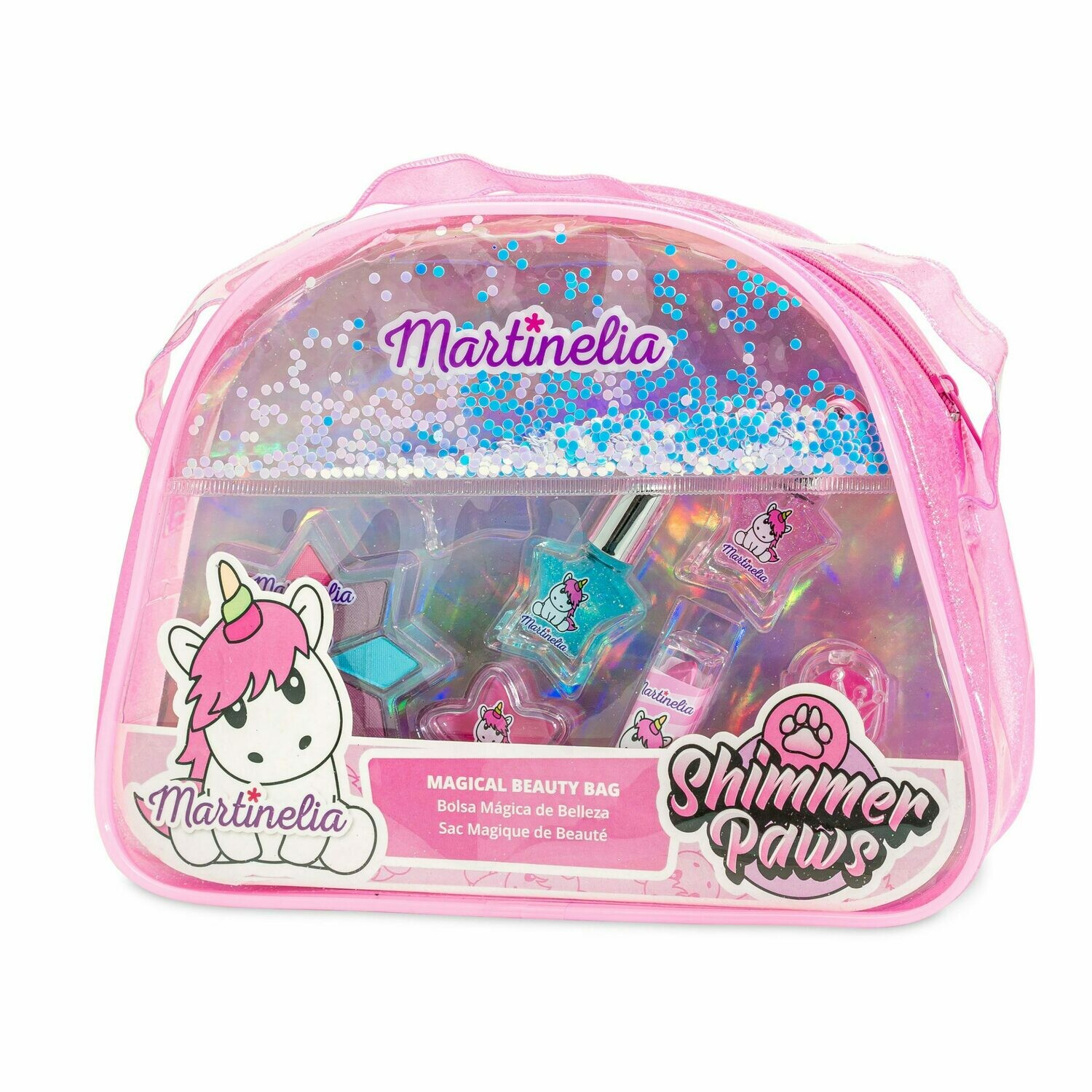 Martinelia Shimmer Paws Magical Beauty Bag Unicorn