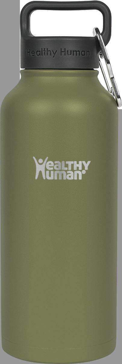 Healthy Human- Stein Bottle Olive 946 ml
