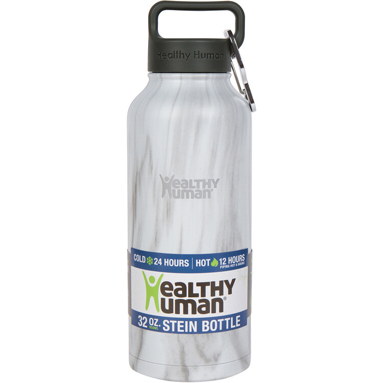 Healthy Human-Stein Bottle Stone White 946 ml