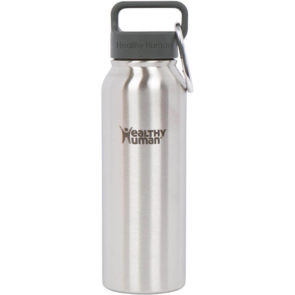 Healthy Human- Stein Bottle Brushed Steel 621ml
