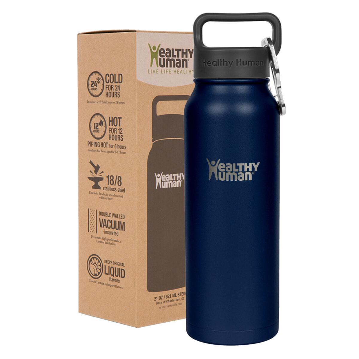 Healthy Human- Stein Bottle Navy 621ml
