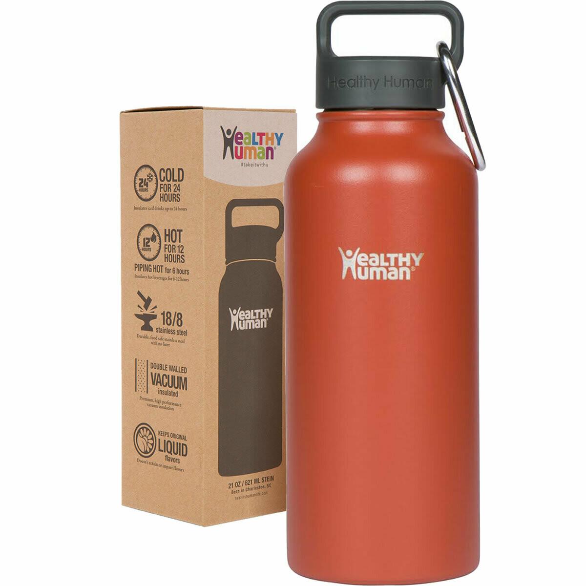 Healthy Human- Stein Bottle Red Hot 950ml