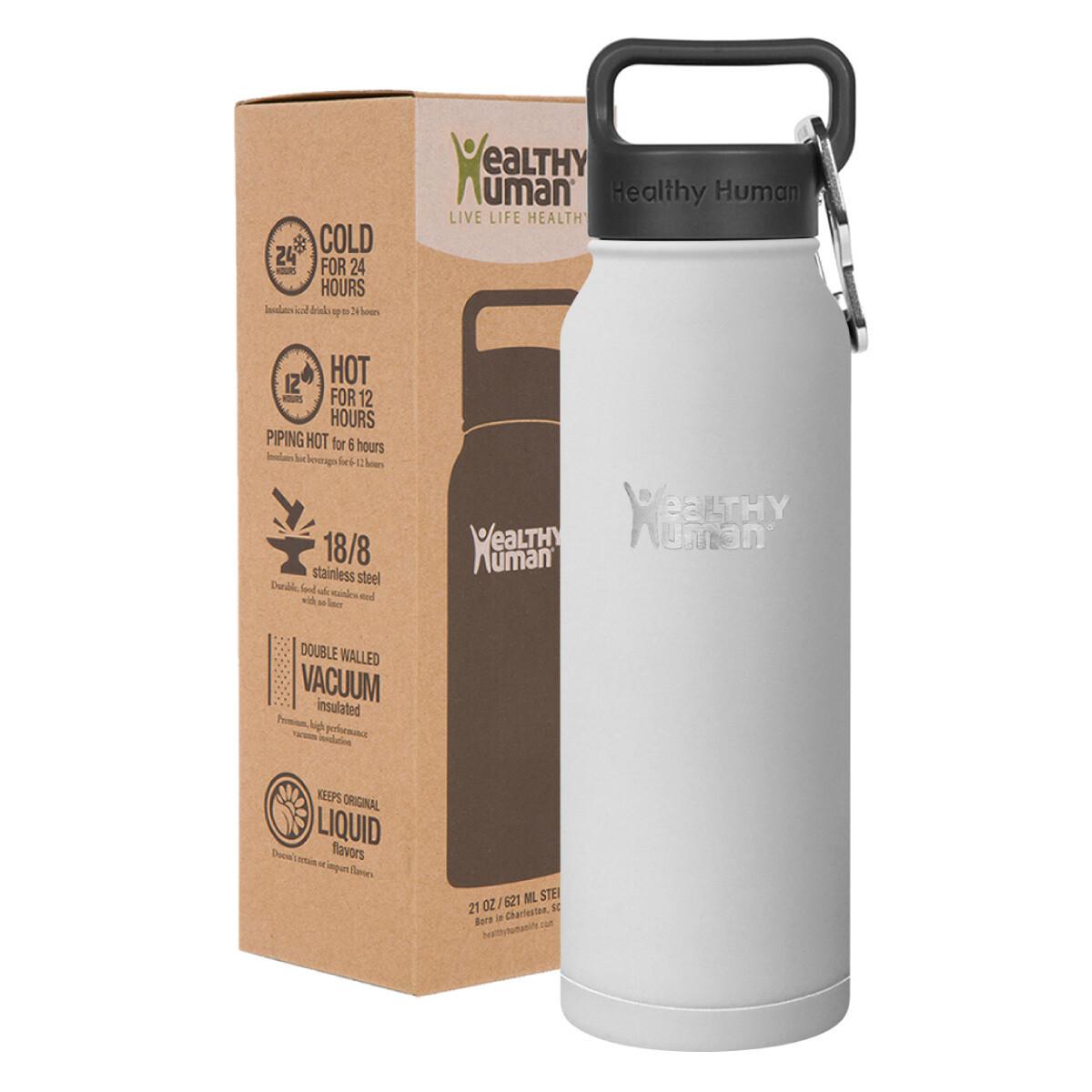 Healthy Human- Stein Bottle Pure White 621ml