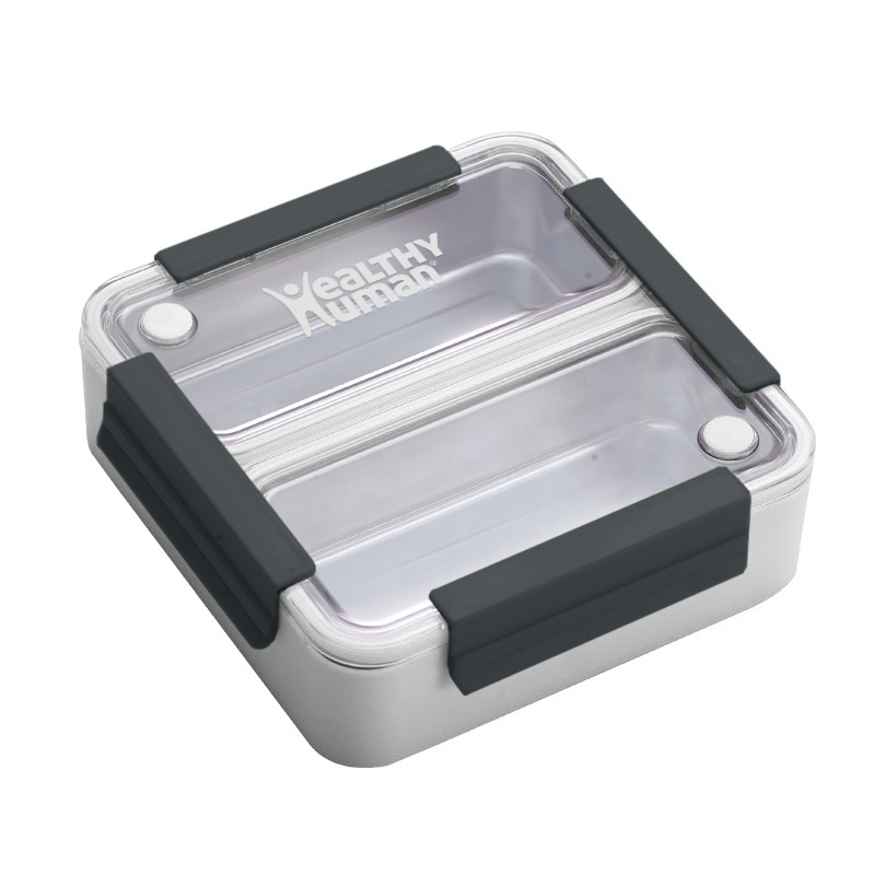 Healthy Habits- On The Go Bento Lunch Box White