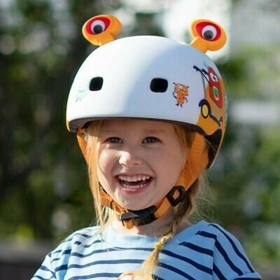 Micro scooters Bike Helmet 3D Κράνος Monsters S (48-53Cm)