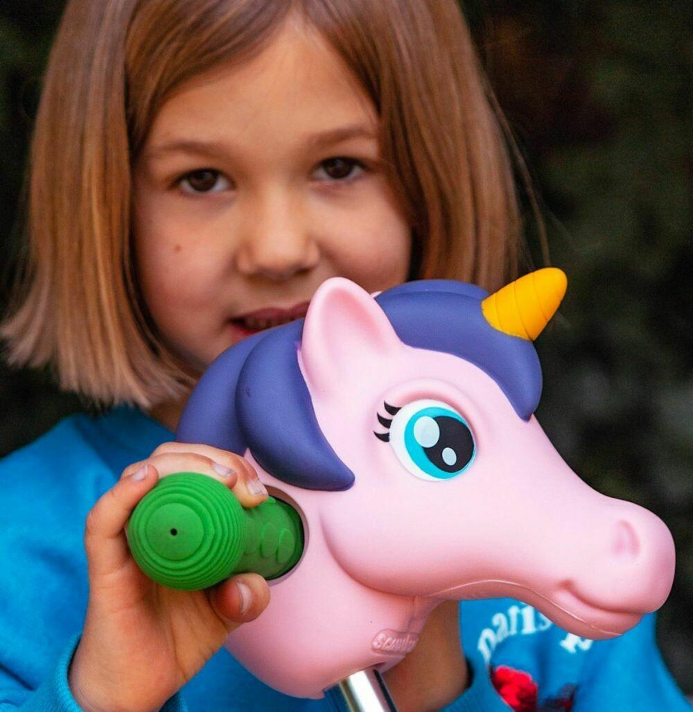 Scoota Headz Pinky Unicorn