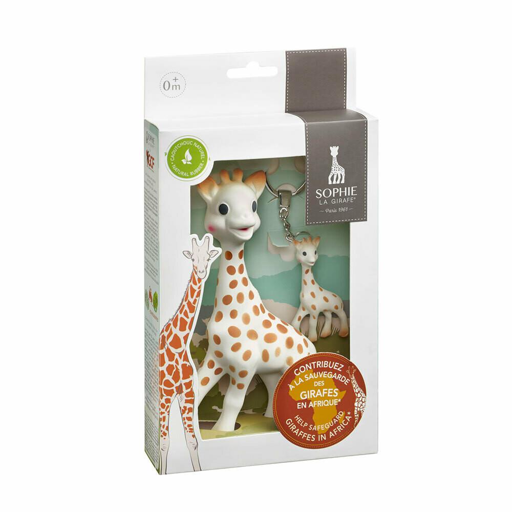 """Σόφι καμηλοπάρδαλη Σετ δώρου """"Save Giraffes"""""""