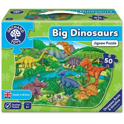 Orchard Toys Big Dinosaurs Jigsaw Puzzle