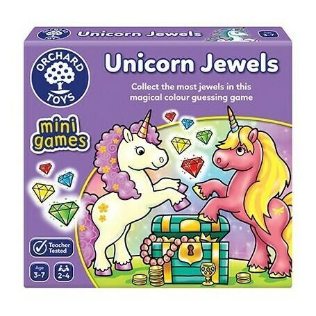 "Orchard Toys ""Διαμάντια Μονόκερων"" (Unicorn Jewels) Ηλικίες 3-7 ετών"